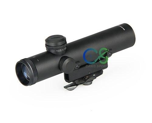 PPT ライフル光学 4 × 22 AR.223 5.56 キャリーハンドル銃耐衝撃電気照準 gs1 0006  グループ上の スポーツ & エンターテイメント からの ライフルスコープ の中 3