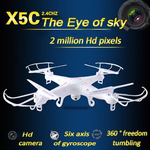 X5C Syma drone Explorers 2.4G 4CH rc airplane 4ch rc Quadcopter With HD Camera LCD Drone RTF 2G with Light&X5 no camera edition aladdin explorers level 5