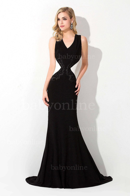 Online Get Cheap White Black Evening Dresses -Aliexpress.com ...