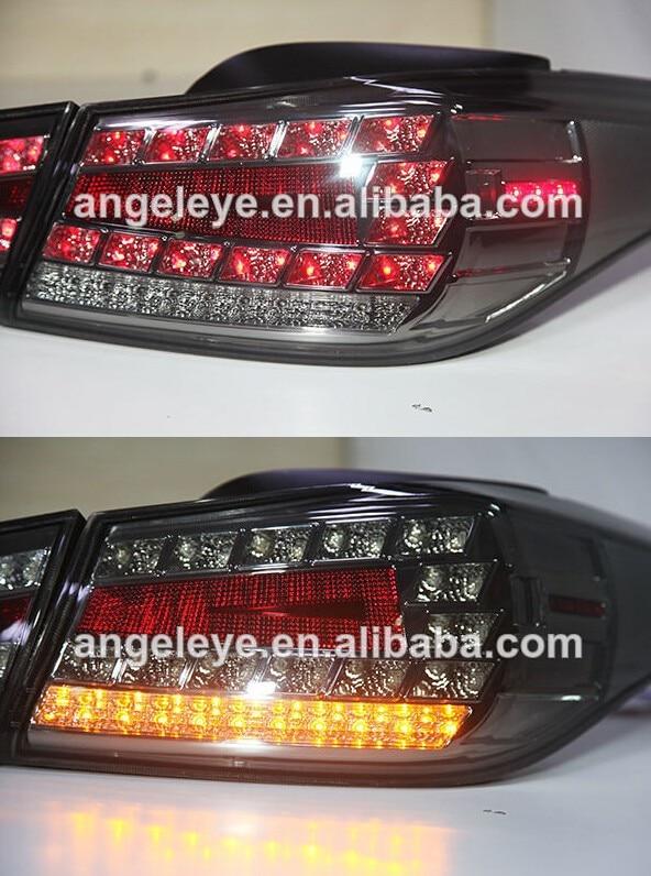 Для Hyundai Elantra светодиодные задние лампы 2012-13 лет WH Тип дым черный для Бен-Z Стиль