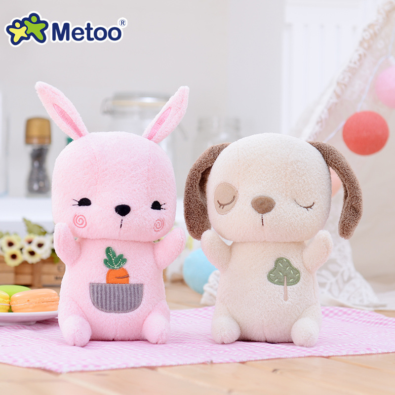 7 Inch Kawaii Plush Stuffed Animal Cartoon Kids Toys for Girls Children Baby Birthday Christmas Gift Deer Rabbit Dog Metoo Doll free shipping new v081 mbx 243 rev 1 1 motherboard for sony vpc f2 vpcf23 vpcf23jfx laptop gt540m