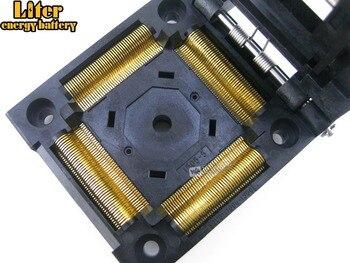 QFP176; TQFP176; FQFP176; PQFP176 IC51-1764-1505-5 Yamaichi IC Test Burn-in Socket Adapter 0.5Pitch