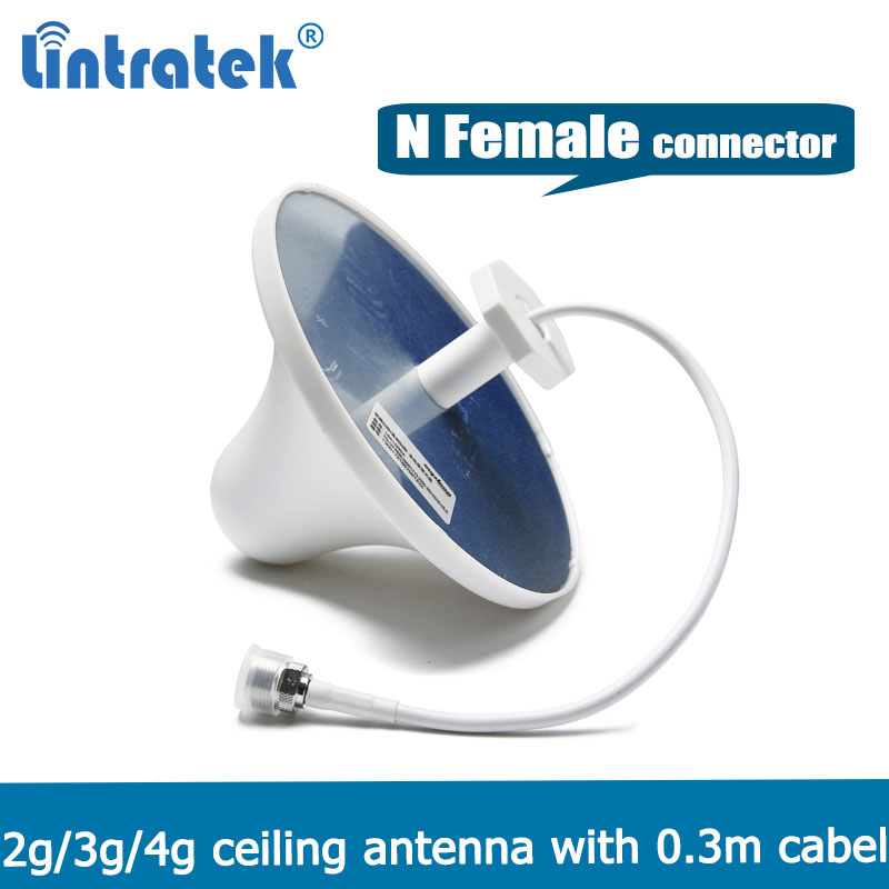 800-2700MHZ Gain 3dBi Mushroom Indoor Ceiling Antenna Indoor Antenna For 2G 3G 4G LTE/GSM/WCDMA/PCS/DCS/CDMA Signal Booster @6.8