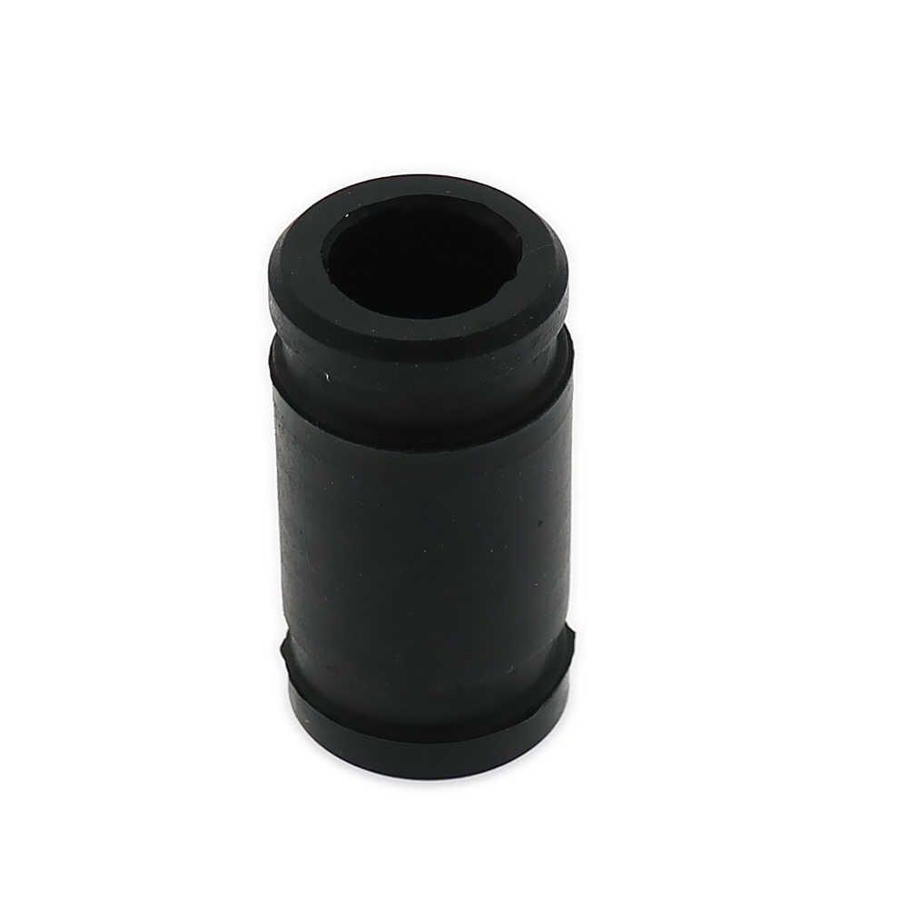 RCAWD Zwart Siliconen Joint Uitlaat Rubber Adapter Uitlaat Tubing Koppeling Rubber Voor 1/8 Nitro RC Hobby Model Auto HSP N10006