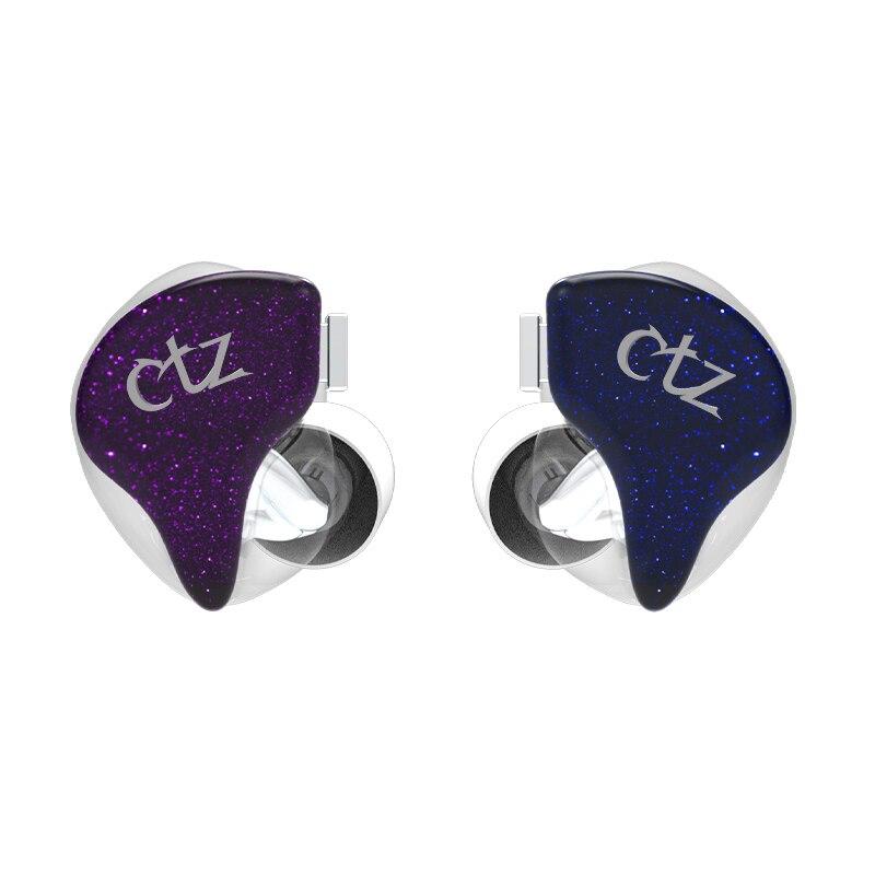 CTZ12 unité mobile fer écouteurs in-ear filaire universel subwoofer ligne contrôle réduction du bruit HiFi casque moniteur fièvre bricolage