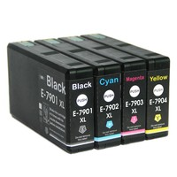 Full Ink 1Set 4 PCS Ink Cartridge T7901 T7902 T7903 T7904 XL FOR Epson Pro WF