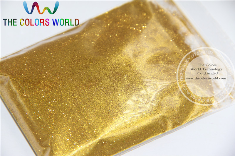 0.08MM 003 finner size Regular  Gold  Color  Glitter  for nail decoration or other decorative purposes