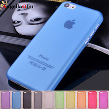 0.28mm Ultra Thin Case Voor IPHONE 4 4 s 5 5 s SE 5c 6 6 s 7 8 X Matte Doorschijnende soft Shell Cover Skin Mobiele Telefoon Bag Protector(China)