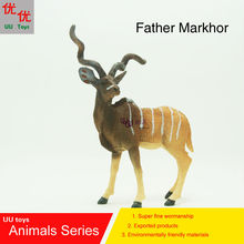 Hot toys:Father Markhor Simulation model  Animals   kids  toys children educational props