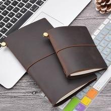 100% Genuine Leather Traveler's Notebook travel Diary Journal Vintage Handmade Cowhide Gift traveler Free Lettering Embosse стоимость