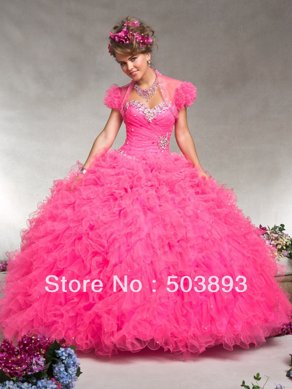 554b22cf927 Quinceanera Dresses Hot Pink - raveitsafe
