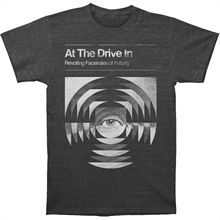 Authentic AT THE DRIVE IN Transcendence Slim-Fit T-Shirt Heather S-3XL NEW Cartoon Print Short Sleeve T Shirt Free Shipping