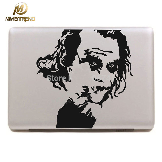 detailed look 5d260 28085 US $7.89 48% OFF|Mimiatrend Joker Holding Batman Decal laptop Sticker for  Macbook Pro Air Retina 11 13 15 Inch Mac Case Cover Skins Adesivo-in Laptop  ...