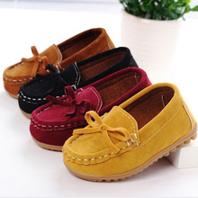 All Seasons Children Toddler Sneakers Shoes Boy Girl Casual Shoes Soft Sole Loafers PU Leather Kids Anti-Slippery Shoe Mocassins