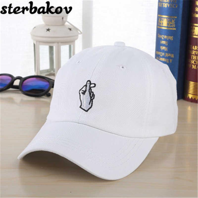 6707ecbe9ab62f 1 Unidas Love Gestures Finger Golf Embroidery Baseball Cap Men Women Snapback  Hats Flipper Small Heart