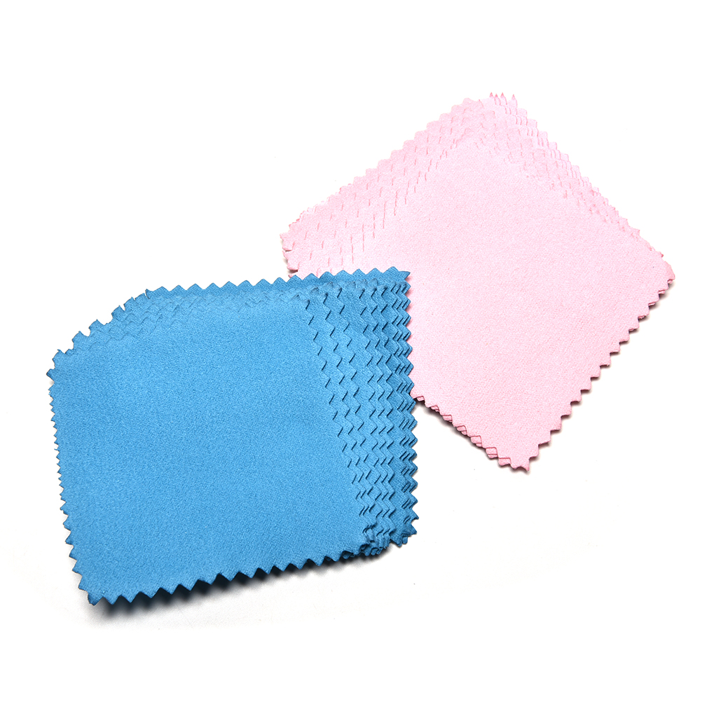 10Pcs  Silver Jewelry Cleaning Cloth Wipe Polishing Cloth Silver Ornaments Cloth Useful Jewelry Tools