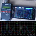 Sark100 HF ANT Antena SWR Analyzer Medidor + Bateria + Bluetooth Android Software
