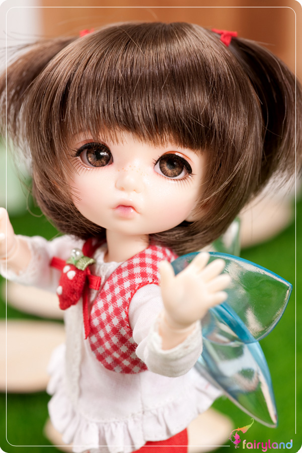 1/8 scale BJD about 15cm pop BJD/SD cute pukiFee PFW-03 Resin figure doll DIY Model Toys gift.Not included Clothes,shoes,wig
