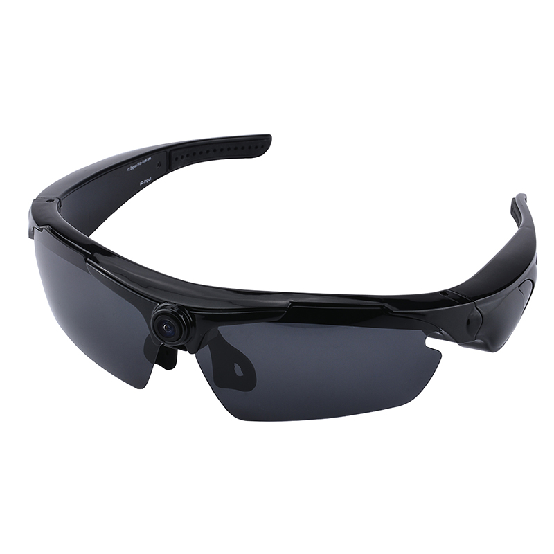 HD 1080P Sunglasses Fashion Sport Camcorder Digital Audio Camera Video DVR Cam Recorder For Outdoor with Remote Controller