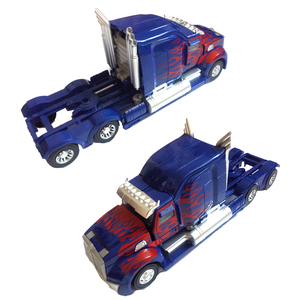 Image 3 - Робот трансформер 45 см, модель автомобиля, классические игрушки, фигурка, подарки для детей, игрушки для мальчиков, модель музыкального автомобиля
