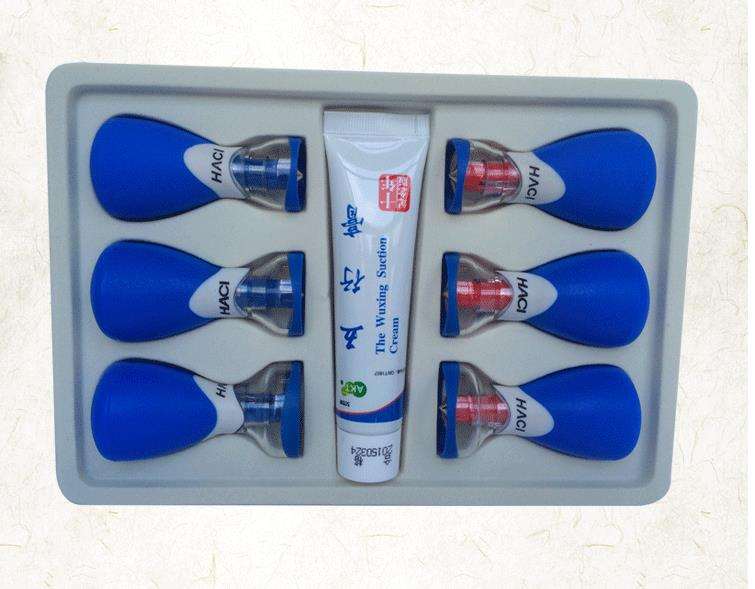 The new five lines of needle Bipolar magnet needle six household cupping acupuncture cupping device magnetic therapy-wxz1 100pcs box zhongyan taihe acupuncture needle disposable needle beauty massage needle with tube
