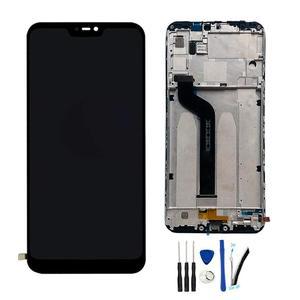 """Image 1 - 5.84 """"AAA Kaliteli IPS LCD + Çerçeve Xiao mi mi A2 Lite LCD Yedek PARÇA ekran için kırmızı mi 6 pro LCD 2280*1080 Çözünürlük"""