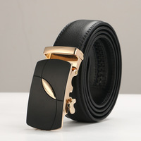 Famous Brand Belt Men Top Quality Genuine Luxury Leather Belts For Men Strap Male Metal Automatic