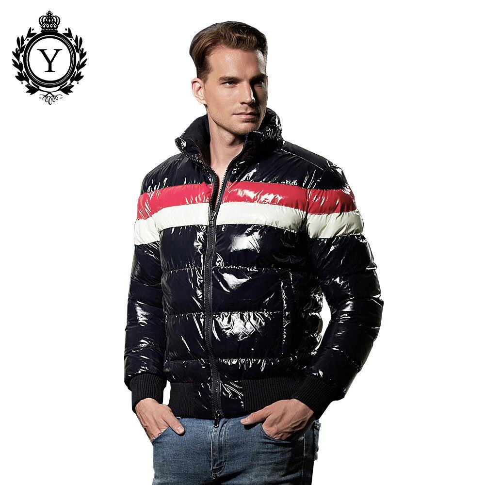 COUTUDI 2017 Collection classique veste d'hiver imperméable coupe-vent veste hommes Parka veste d'hiver à capuche Parka hommes