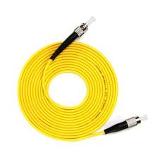 ST to FC Single-mode optical fiber patch cord SM ST/FC fiber jumper cabel Simplex 9/125 UPC Polish OFNR 3m 5m 10m 15m недорого