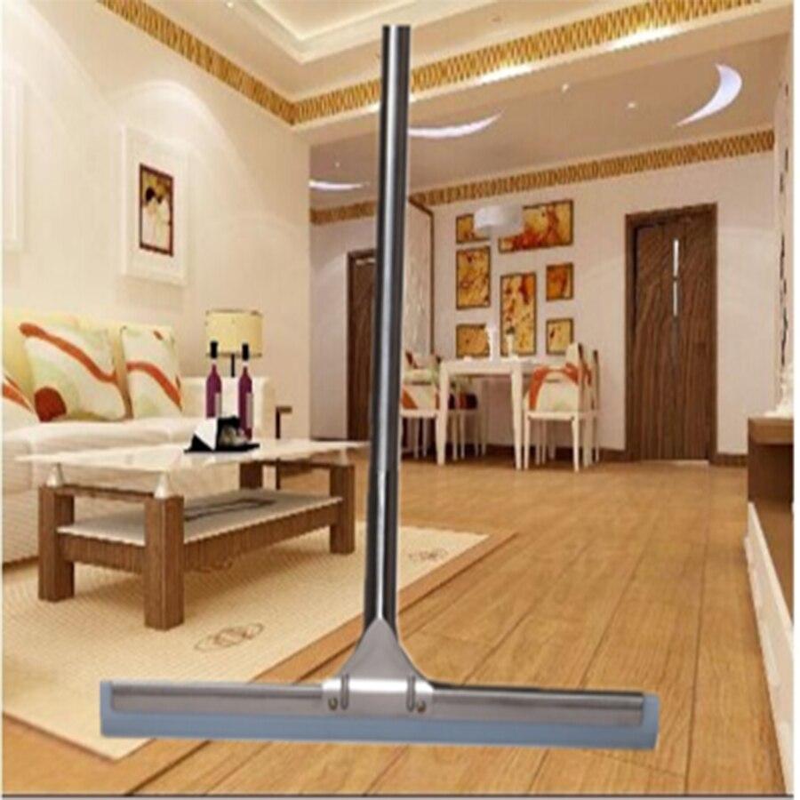 Soft Large Durable Rubber Floor Scraper Blade Safe Floor Cleaner Brush Durabilidad Zacht Floor Squeegee Cleaning Tools 60C0010