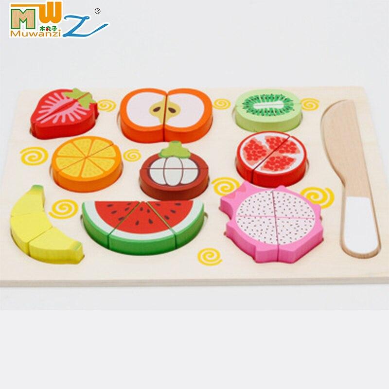 Küche Kochen Kit Kinder Pretend Spielen Spielzeug Holz Kochgeschirr Mikrowelle Topf Spielset Form Sorter Pädagogisches Spielzeug Für Kleinkinder Pretend Spielen