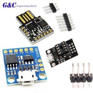 Миниатюрная макетная плата Digispark kickstarter ATTINY85 модуль для Arduino usb