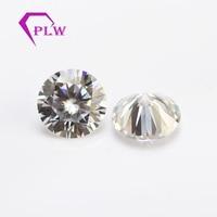 3ct IJ 9 мм желтый цвет отлично вырезать VVS1 diamond тесты положительный навсегда один Муассанит без огранки камни для колец сережек браслетов