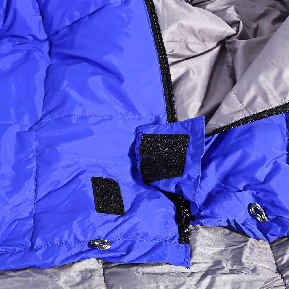 2 mt Erwachsene Daunenschlafsack Ultraleichtes Wasserdichtes - Camping und Wandern - Foto 5