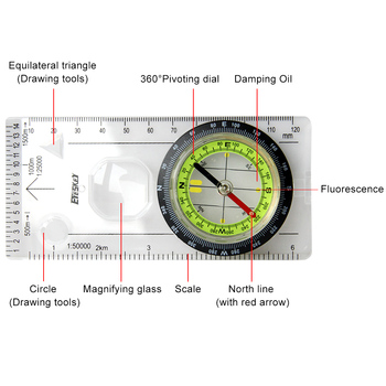 Eyeskey Outdoor Camping Directional Compass 2