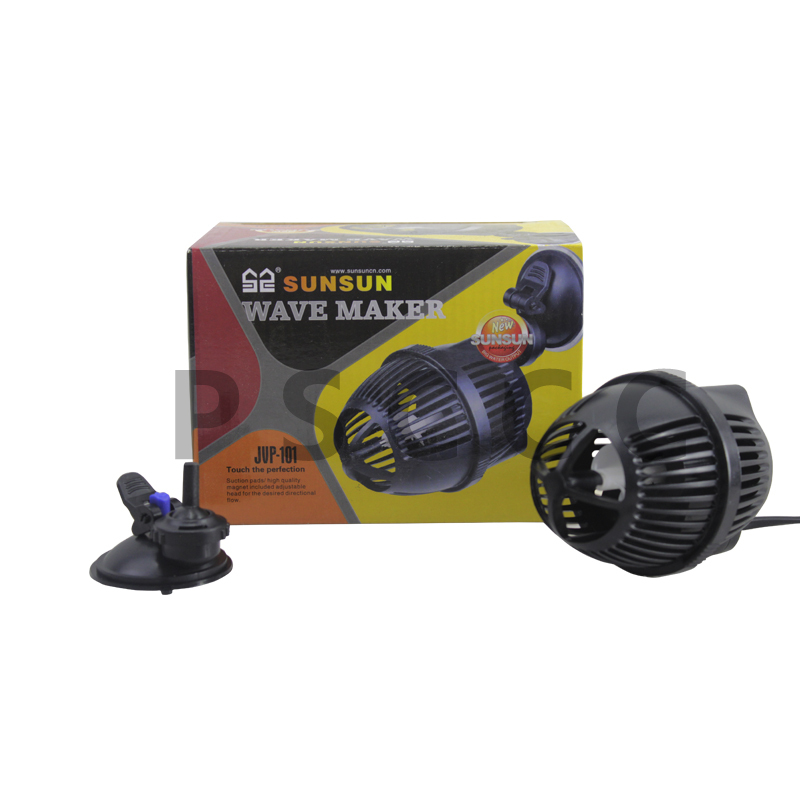Sunsun jvp101 6w 3000l h marine freshwater aquarium fish for Fish tank wave maker