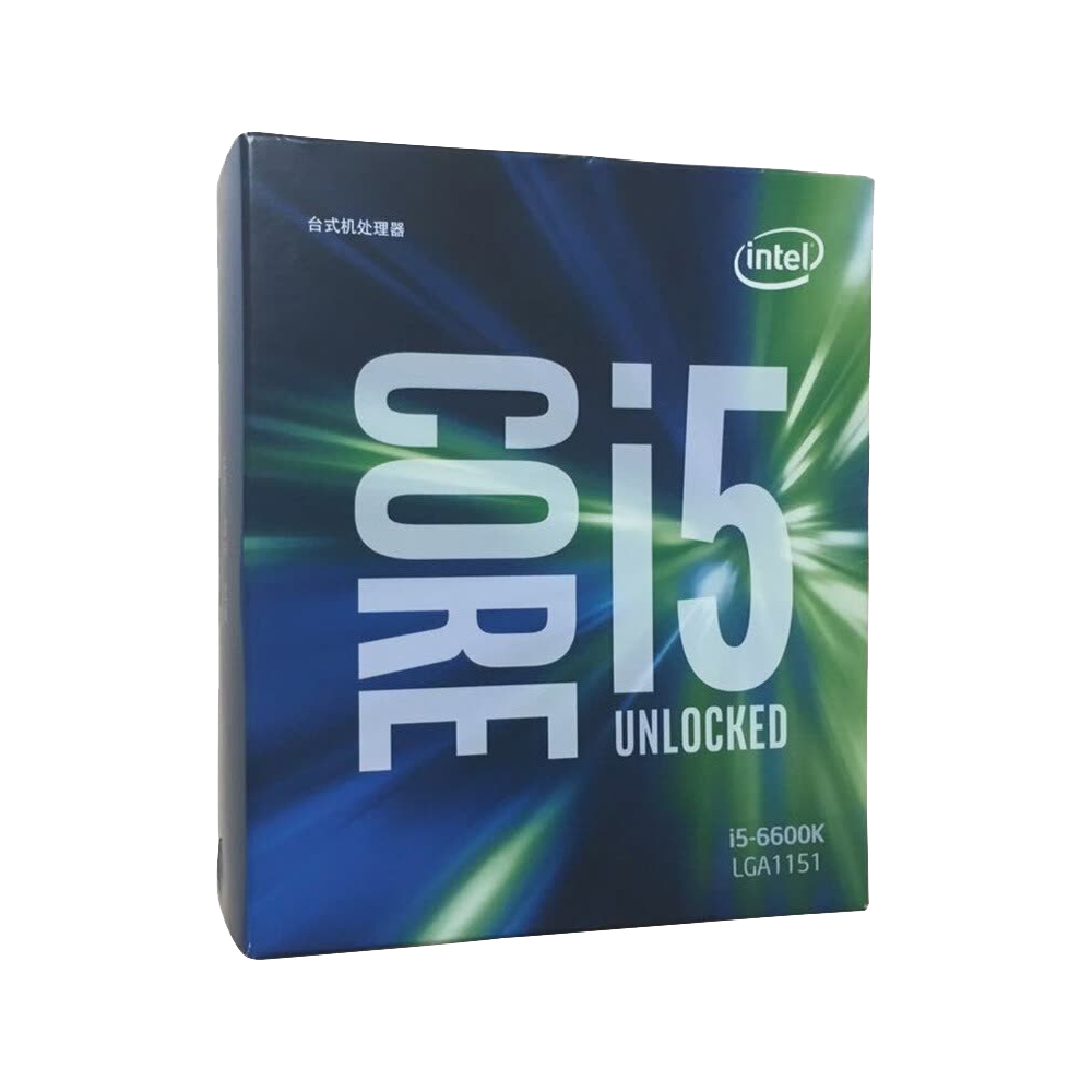 CPU Intel Core I5-6600K Computer & Office Computer Components CPUs