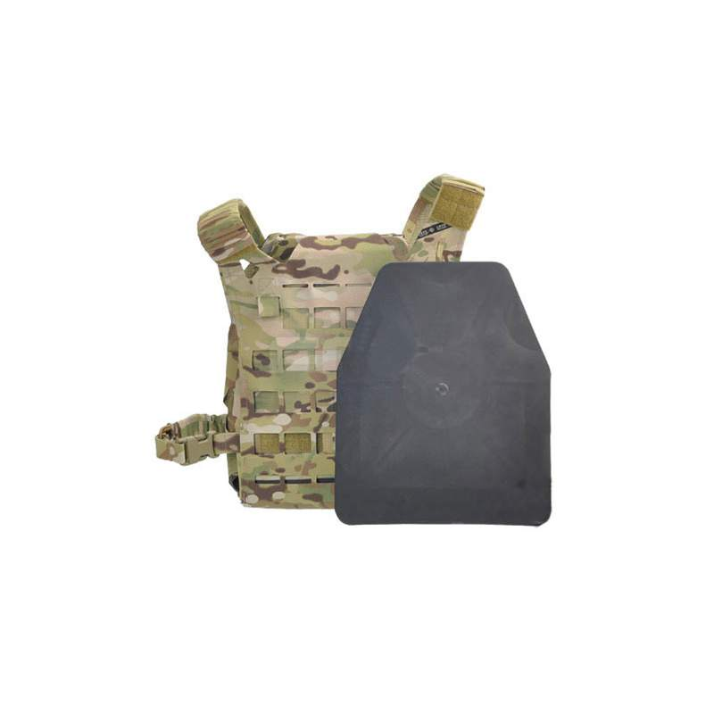 Chaleco de ciclismo al aire libre Pad táctico a prueba de golpes armadura de entrenamiento 2 placas SAPI militar Airsoft Wargame ejército chaleco accesorios para JPC