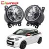 Cawanerl For Citroen C1 PM PN Hatchback 2005 Up Car Styling LED Fog Light 4000LM Daytime