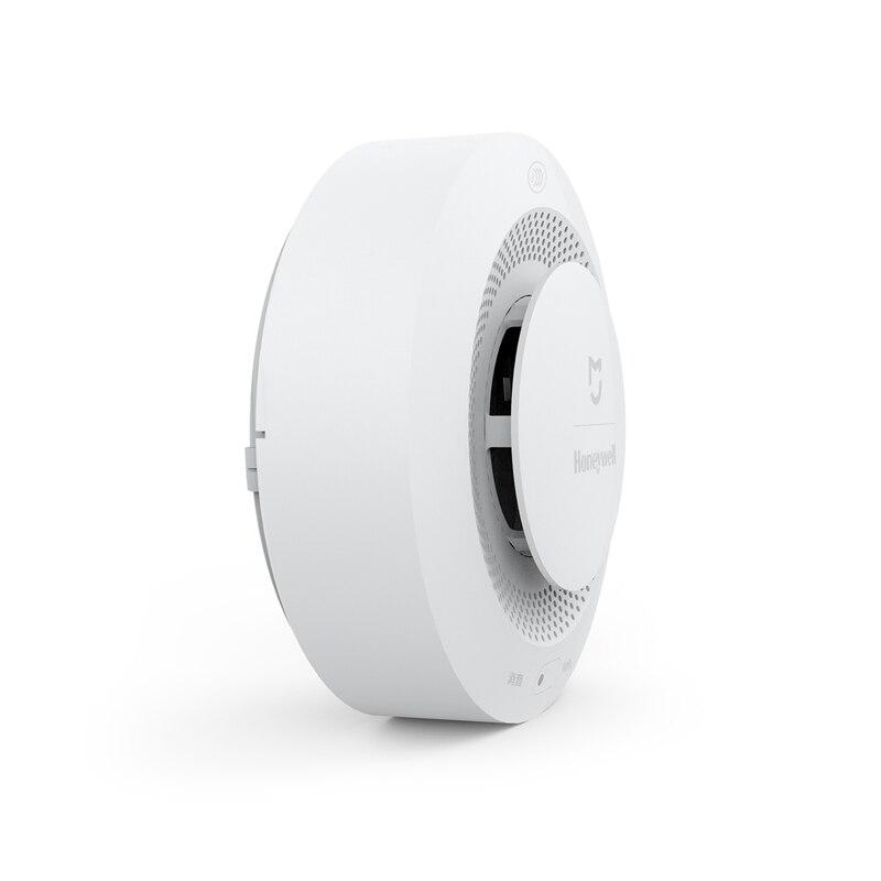 Image 2 - Original Xiaomi mi jia Honeywell Detector de alarma de incendios Control remoto Audible Visual Alarma de aviso trabajo con la aplicación mi Home-in Detector de humo from Seguridad y protección on AliExpress