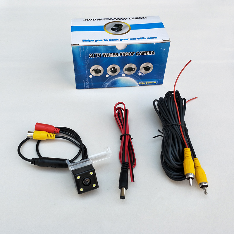 Car Parking Camera For <font><b>Peugeot</b></font> 1007 2008 3008 <font><b>4007</b></font> RCZ / HD CCD Night Vision Auto Rear-view Reverse Parking Camera image