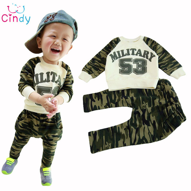 537ee67bbaf1f kids boys sport clothing sets infantil newborn military army t shirt pants  baby boys clothes suits spring children tracksuits-in Clothing Sets from ...