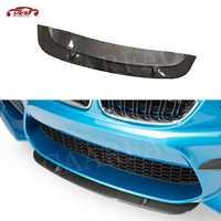 Série De Fibra De Carbono Frente Lip Spoiler Para BMW F87 2 M2 2016 2017 2018 Carros Curto Chin Guarda Pá