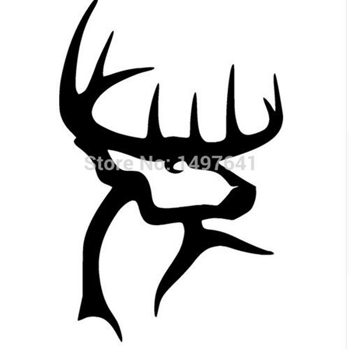 Truck Decals Stickers Rear Window Graphics Legendary Whitetails - Rear window hunting decals for trucks