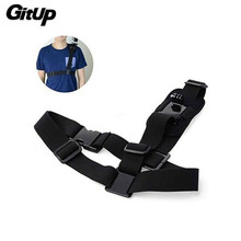Gitup Accessories New Shoulder Harness Mount Adjustable Size For GoPro SJ4000 SJ5000 Gitup Action Camera Free Shipping!