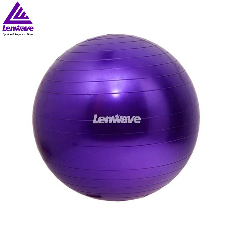 Blue Purple Yellow Pink 55cm Yoga Ball Exercise Equilibre Pilates Women Fitness Ball Lenwave Brand  yoga ball yellow | Yellow Ball Puncture Blue Purple font b Yellow b font Pink 55cm font b Yoga b font font b