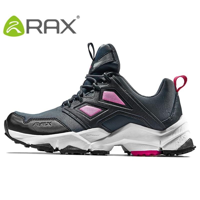 RAX 2018 femmes chaussures de randonnée baskets de plein air respirant Trekking chaussures de marche femmes chaussures de randonnée Sports de plein air baskets femmes