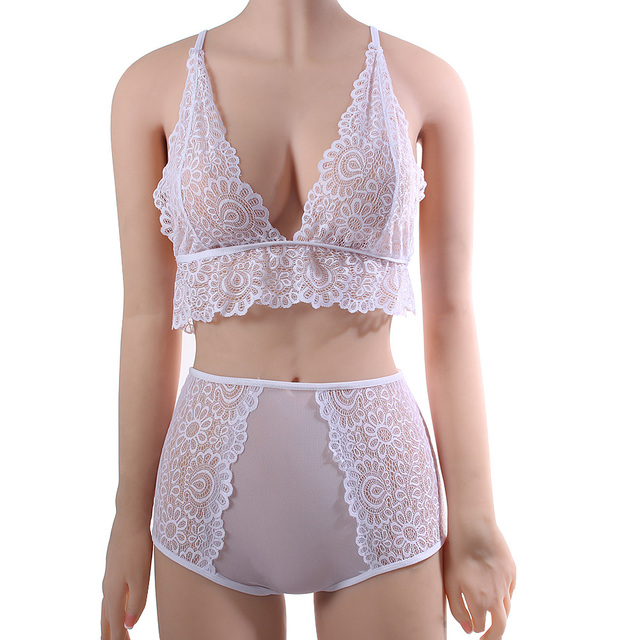 Lace Cami-Bralette with Matching Brief 3