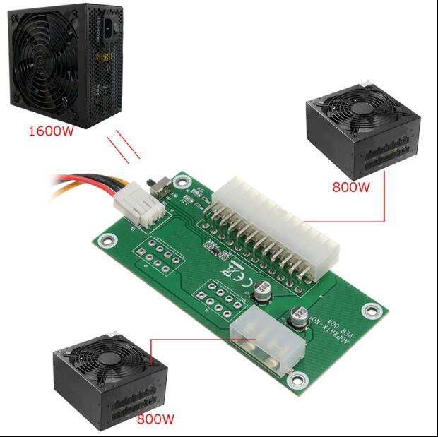 Cartão de Reinicialização para Bitcoin Livre Computador Multi-poder Synchronous Mining Ems 24pin