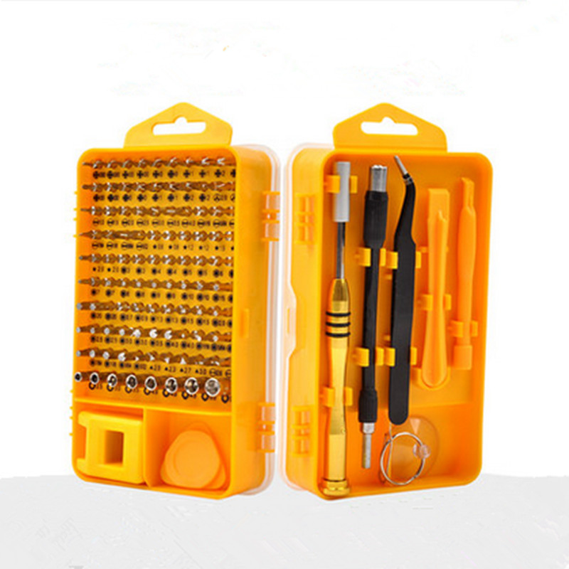 купить 108 in1 Multifunctional Screwdriver Set Mini Screwdriver Bits Mobile Phone And Computer Repair Tool Kit Set Herramientas недорого